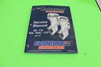 USED LIKE NEW 1996 Evinrude Service Repair Manual 60° LV 90 115 150 175HP 507127