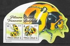 Pitcairn Islands 2017 NEW ISSUE Transverse Ladybird M/S MNH