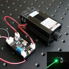 High Power 515nm 520nm 1w 1000mw Green Laser Dot Module 40mm Heatsink Fan