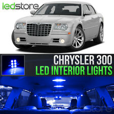 2005-2010 Chrysler 300 Blue Interior LED Lights Kit Package