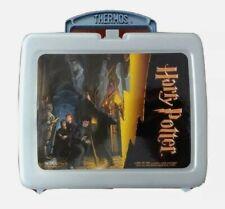 Vintage Harry Potter Plastic Lunch Box plus Bonus Thermos and chip holder