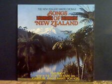 SONGS OF NEW ZEALAND  New Zealand Maori Chorale  LP   Lovely copy !!