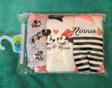 Disney Minnie Mouse And Mickey Mouse 3 Pk Bikini Briefs Sz Med Primark