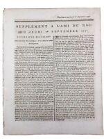 Moulins en 1791 Arlon Belgique Namur Du Bouchet Pawlet Royaliste Ami du Roi