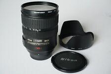 Nikon AF-S Nikkor 24-120mm f/3.5-5.6G aspherical zoom lens, SWM VR ED IF