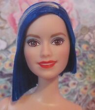NEW! Rock 'n Royals ZIA Pop Star Barbie Doll, Raquelle Mold Blue Hair, Nude OOAK