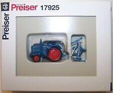 Preiser H0 17925 - Lanz Ackerschlepper D 2416, Schmale Bereifung, Mähwerk - 1:87
