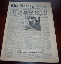The Hockey News October 15 1947 Vol 1 # 3  All Star Game Coverage