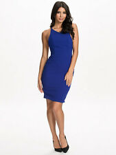 AQ AQ Layla Knee Length Dress Surf The Web Blue Size AU 10 US 6 Regular $180