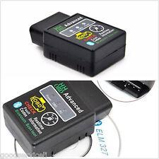 Bluetooth Advanced Auto Car Diagnostic Scanner code reader  tool mini Wireless