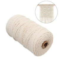 2mm x 200m Macrame Cotton Cord for Wall Hanging Dream Catcher