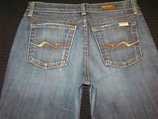 David Kahn Original Rise Bootcut Jeans Sz 6 3500 Stretch w Flame Pocs