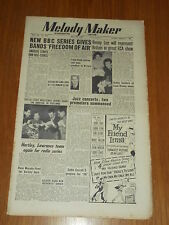 MELODY MAKER 1950 #876 MAY 20 JAZZ SWING BENNY LEE GERALDO HARTLEY EDDIE CARROLL
