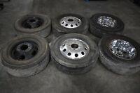 """17"""" Dually Wheels / Tires - 2012 10-12 Ram 3500 DRW Diesel #12-0293"""