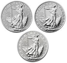 2018 2019 2020 Silver BRITANNIA 1oz Coin ORIENTAL BORDER  UK Royal Mint Bullion