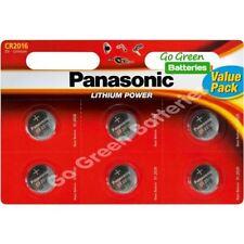 Piles boutons Panasonic au lithium pour équipement audio et vidéo