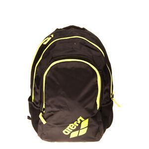 ARENA Backpack Large Contrast Mesh Coated Logo Padded Back & Straps Zipped