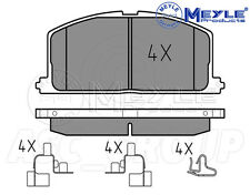 Meyle Brake Pad Set, Front Axle With anti-squeak plate 025 208 7015