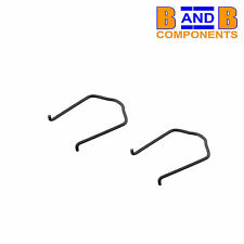 VW AUDI RADIATOR TOP BOTTOM WATER HOSE FLANGE RETAINING SPRING CLIP x 2 A1214