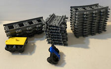 Lego Train & Track Railroad Parts Pieces Lot w/ Straights & Curves