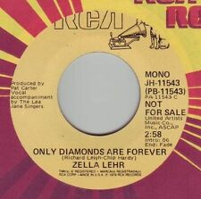 ZELLA LEHR Only Diamonds Are Forever ((**NEW UNPLAYED 45 DJ**)) from 1979