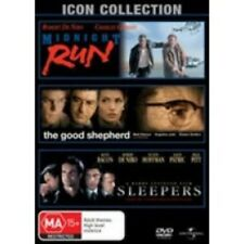 MIDNIGHT RUN/THE GOOD SHEPHERD/SLEEPERS Robert De Niro 3DVD NEW