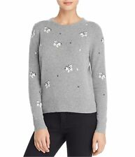 Rebecca Taylor Womens Butterfly Pullover Sweater