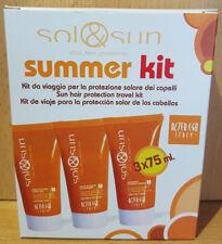 Sol & Sun Sommer Set Urlaub 3x 75ml Conditioner, Shampoo,Haarschutzgel | Wella