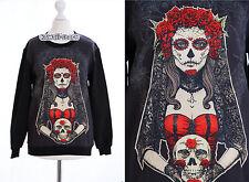 TY-Y114 Gothic Punk Dead Wedding Bridal Sweatshirt Pullover Harajuku Japan Trend