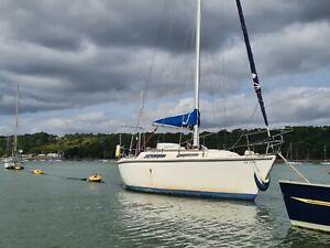 """Colvic Sailor 29' 6"""" sailing boat sailing yacht"""