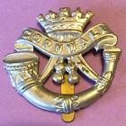 WW1 era, British, Duke of Cornwall's Light Infantry Regiment, Cap badge, slider