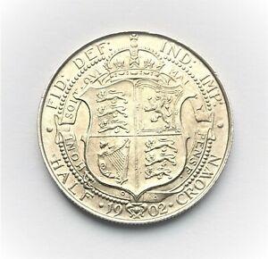 Edward VII 1902 Halfcrown