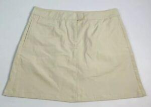 New Puma Women's 14 Tennis Golf Skort Skirt with Shorts Khaki