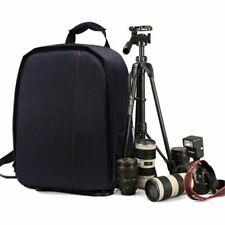 For Canon EOS-Nikon Sony DSLR Camera Waterproof Shoulder Case Bag Backpack