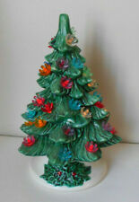 180 Plastic candle blossoms lights up ceramic Xmas trees