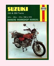 SUZUKI Workshop Manual B120 1967 1968 1969 1970 1971 1972 1973 1974 1975 1976 on