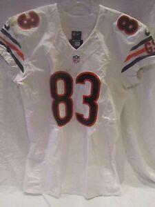 Martellus Bennett Chicago Bears Game Used Road Jersey (11/9/14) - PSA Cert