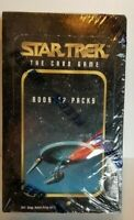 Star Trek The Card Game Booster Packs Collector Unopened Pack Card Box