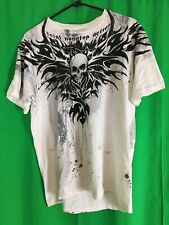 TNA Wrestling Mens Large Total Nonstop Action White T shirt