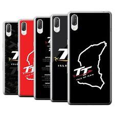 Official Isle of Man TT Gel/TPU Case for Sony Xperia L3 2019 /TT Logos