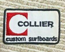 1960s Collier Surfboard Patch Vintage Surf Surfing Nj