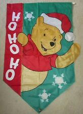 Winnie the Pooh Christmas Garden Flag