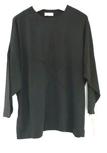 EG 44 46 48 Bella Donna Basic Lagenlook Feinstrick Pullover Pulli Langarm NEU