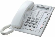 Panasonic KX-T7730 White Hybrid System Corded Telephone BRAND NEW