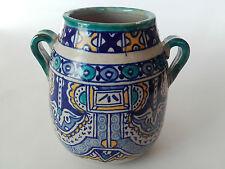 Guellouch pot à miel Fes Serghini Safi , Meknès , Maroc céramique Islamique