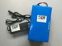 36v 15ah 12S LiFePO4 Battery 3A Charger BMS Electric Bicycles Rechargeable UPS
