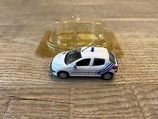 Norev 1/43 Peugeot 206 Police Belge white Police et Gendarmerie n°71 very nice!