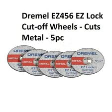 Dremel EZ456B EZ-Lock Metal Cut Off Wheels (5 wheels)