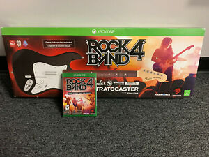 NEW Xbox One Rock Band 4 Wireless Guitar Game Controller BLACK with SEALED GAME