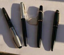 LOT Vintage Antique Fountain Pens Wearever Writefine 14K Gold Nib Eversharp NR